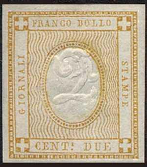 1862 - Cifra in rilievo