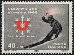 Universiade d'inverno - discesa inaugurale