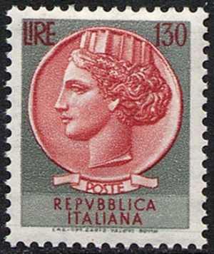 """Italia """"Turrita"""" - L. 130"""