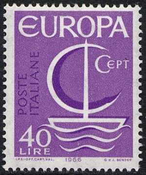 Europa - 11ª serie - L. 40