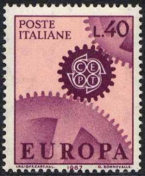 Europa - 12ª serie - L. 40