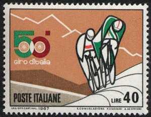 50° Giro ciclistico d'Italia - in salita