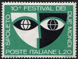 10° Festival di Spoleto - L. 20