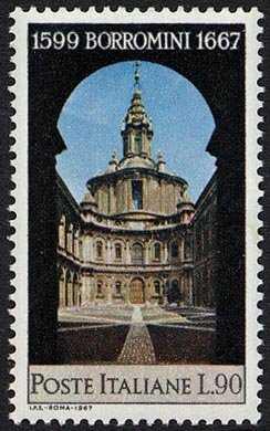 3° Centenario della morte di Francesco Borromini - Chiesa di S. Ivo a Roma