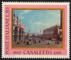 """Bicentenario della morte di Antonio Canal detto """"il Canaletto"""" - 'La Piazzetta'"""