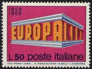 Europa - 14ª serie - L. 50