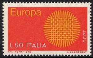 Europa - 15ª serie - L. 50