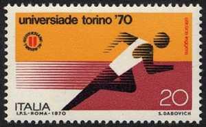 Universiadi di Torino ''70 - atletica leggera