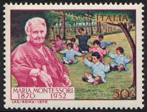Centenario della nascita di Maria Montessori - ritratto dell'educatrice