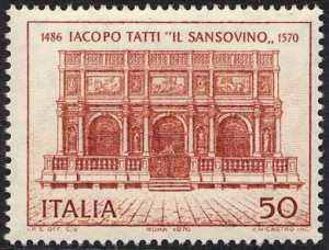 4° Centenario della morte di Jacopo Tatti detto 'il Sansovino' - Loggetta del Campanile in Piazzetta S. Marco a Venezia