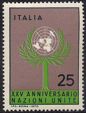 XXV Anniversario dell' O.N.U. - L. 25