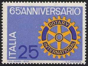 65° Anniversario del Rotary Club - L. 25