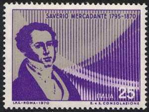 Centenario della morte di Saverio Mercadante - ritratto del maestro