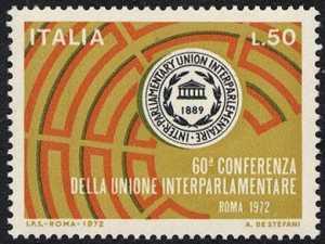 60ª Conferenza dell'Unione interparlamentare - L. 50