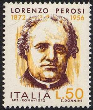 Centenario della nascita di Lorenzo Perosi - sacerdote e compositore di musica sacra