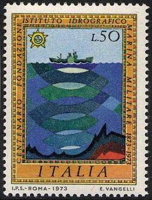 Centenario dell'Istituto Idrografico della Marina Militare - L. 50