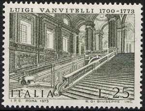 Bicentenario della morte di Luigi Vanvitelli - scala monumentale della Reggia di Caserta