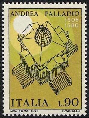 Arte italiana - Andrea Palladio - Villa Capra