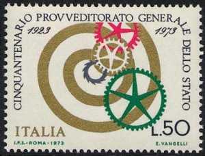 Cinquantenario del Provveditorato Generale dello Stato - L. 50