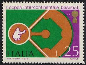 1ª Coppa intercontinentale di baseball - ricevitore