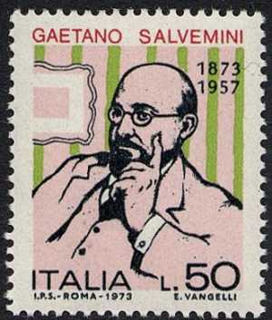Centenario della nascita di Gaetano Salvemini - ritratto