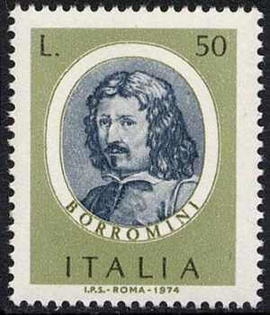 Uomini illustri - 2ª serie - Borromini