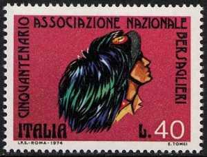 Cinquantenario della Associazione Nazionale Bersaglieri - L. 40