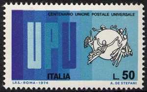 Centenario dell'Unione Postale Universale - L. 50