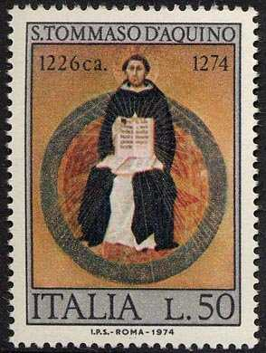 7° Centenario della morte di San Tommaso d'Aquino - 'Trionf del Santo ' - opera di Traini
