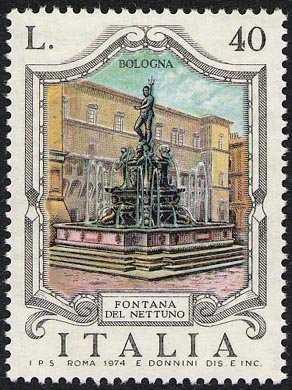 Fontane d'Italia - 2ª serie - 'Nettuno' - Bologna
