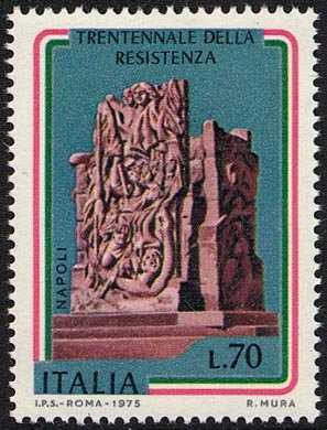 30° Anniversario della Resistenza - Napoli 4 Giornate - M. Mazzacurati