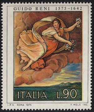 Arte Italiana - 2ª serie - Guido Reni : 'Aurora'  - Roma