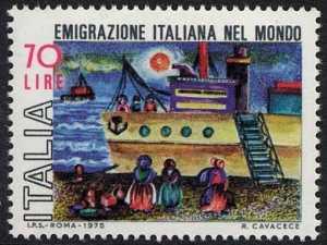 Emigrazione italiana nel mondo - L. 70