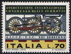 XXI Sessione dell'Associazione Internazionale del Congresso delle Ferrovie - L. 70