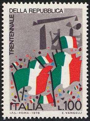0° Anniversario della Repubblica - bandiere
