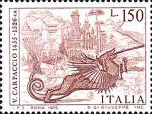 450° Anniversario della morte di Vittore Carpaccio - ' S. Giorgio uccide il drago '