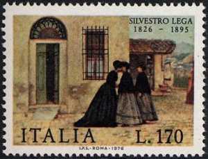 150° Anniversario della nascita di Silvestro Lega - 'La visita'