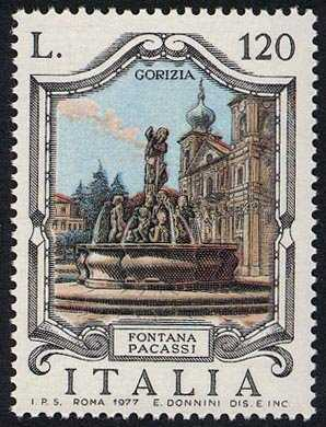 Fontane d'Italia -  'Pacassi' - Gorizia