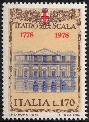 Bicentenario del Teatro alla Scala - veduta della facciata