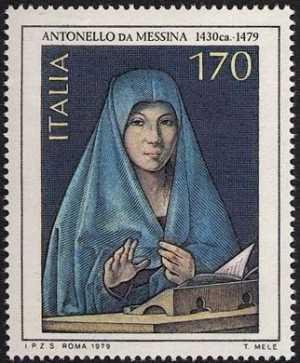 Arte Italiana  - Antonello da Messina - 'L'Annunciata'