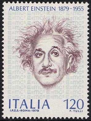 Centenario della nascita di Albert Einstein - lo scienziato