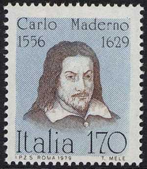 Uomini illustri - Carlo Maderno