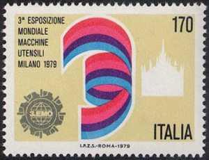 Terza Esposizione mondiale di macchine utensili - Milano - L. 170