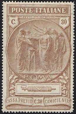 1923 - Pro cassa di previdenza delle camicie nere