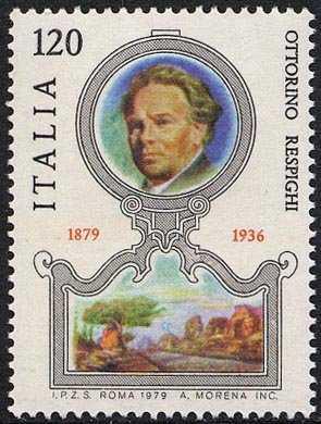 Centenario della nascita di Ottorino Respighi - ritratto del compositore