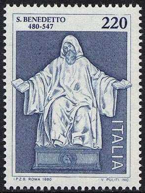15° Centenario della nascita di S. Benedetto da Norcia - patrono d'Europa