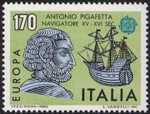 Europa - Personaggi celebri - Antonio Pigafetta navigatore