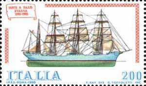 Costruzioni navali italiane - nave a palo 'Italia'