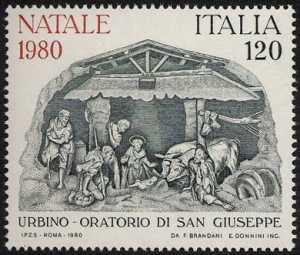 Natale - Presepio di Federico Brandani - XVI sec. Urbino