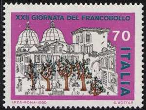 XXII Giornata del Francobollo - disegno di G. Botter